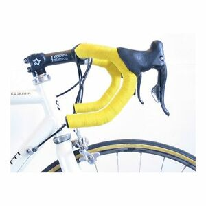 Cinta Manillar Carretera Bike Ribbon Profesional Con Tapones Negro Bici Biciclet