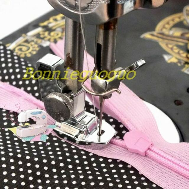 NEW INVISIBLE SNAP ON ZIPPER FOOT SEWING MACHINE FEET ZIP free shipping