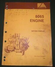 Fiat Allis 8065 Engine Service Shop Repair Workshop Manual