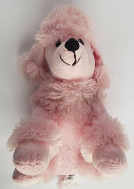 Dan Dee Pink Poodle Plush Dog Stuffed Toy Puppy Collectors Choice 10