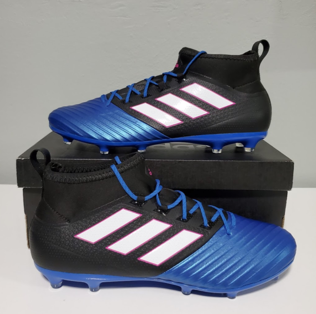 New adidas Men's Ace 17.2 PrimeMesh FG Soccer Cleats Style BB4325 size US Men 11