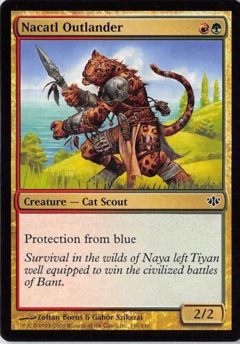 Nacatl Outlander *PLAYSET* Magic MtG x4 Conflux SP