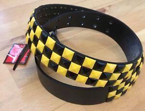 Kleidung & Accessoires Studded Belt Gürtel Punkrock Punk Punk's Not Dead Dortmund Cooler Nietengürtel