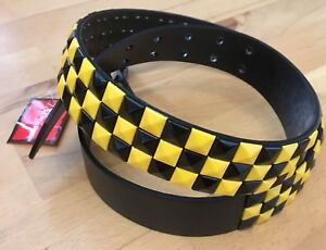 Herren-accessoires Fanartikel & Merchandise Cooler Nietengürtel Studded Belt Gürtel Punkrock Punk Punk's Not Dead Dortmund