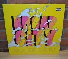 BROAD CITY - Soundtrack O.S.T. Limited 1st Press YELLOW VINYL + Download NEW!