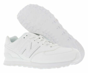 Details about New Balance 574 White Leather Urban Sport ML574WEX Mens  Lifestyle Shoes