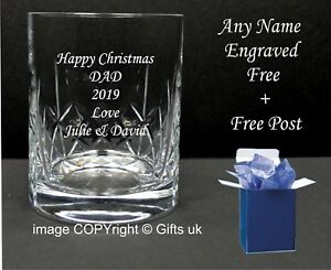 Crystal Whisky Glass Wedding Usher Gift