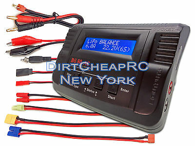 iMAX B680AC AIR 6A 80W ACDC LiPo Battery Balance Charger XT60 EC3 Tamiya Walkera