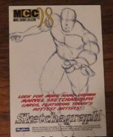 MCC 98 Fleer Marvel Creator Collection Sketchagraph Scarlet Witch  by John Czop