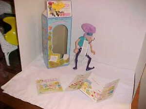 KENNER-Strawberry-Shortcake-Purple-Pieman-figure-in-box-incomplete-1980-43080