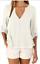 thumbnail 16 - Fashion-Women-039-s-Ladies-Summer-Loose-Chiffon-Tops-Long-Sleeve-Shirt-Casual-Blouse