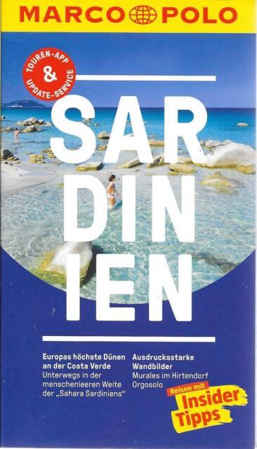 Sardinien Costa Verde Murales Orgosolo Marco Polo Reiseführer & Extra-Faltkarte