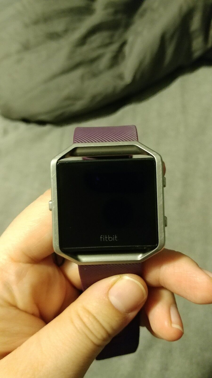 Fitbit Blaze Smart Plum Fitness Watch Small Plum Smart FB502SPMS 9d34a3