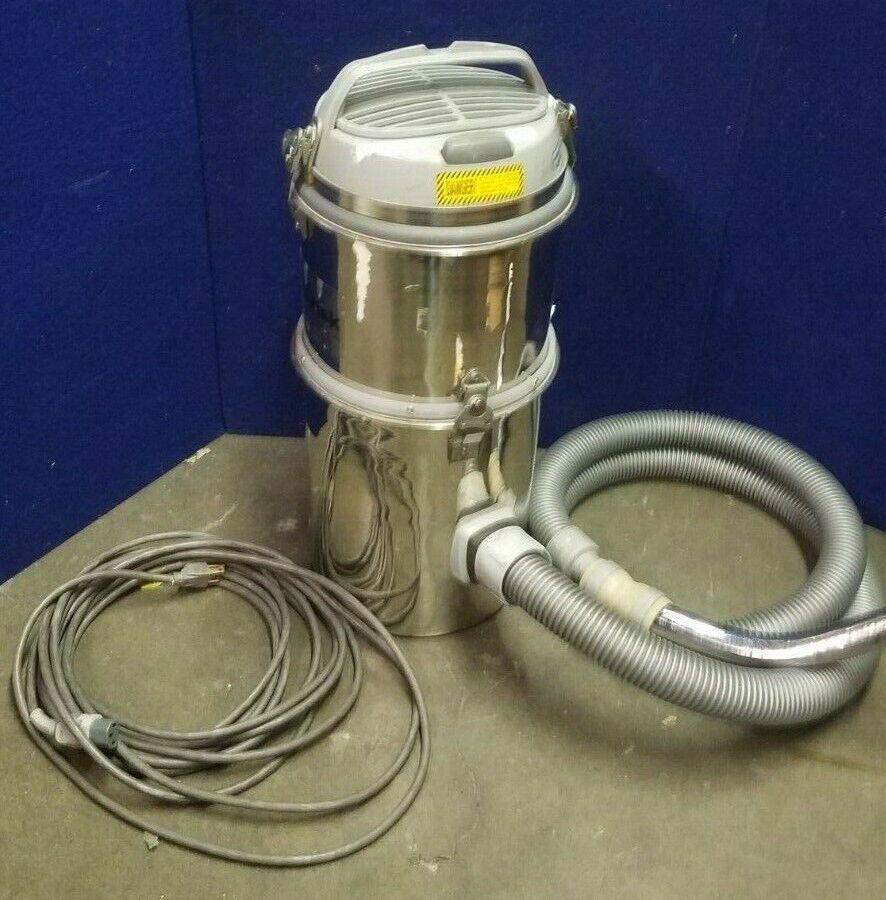 NILFISK ADVANCE GMPJ 115 INDUSTRIAL STAINLESS VACUUM CLEANER 110-120V 1100W