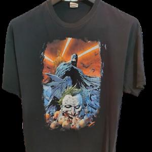 Batman-Joker-T-Shirt-Adult-2XL-PreOwned-Short-Sleeve-Graphics-Gotham-DC-Comics