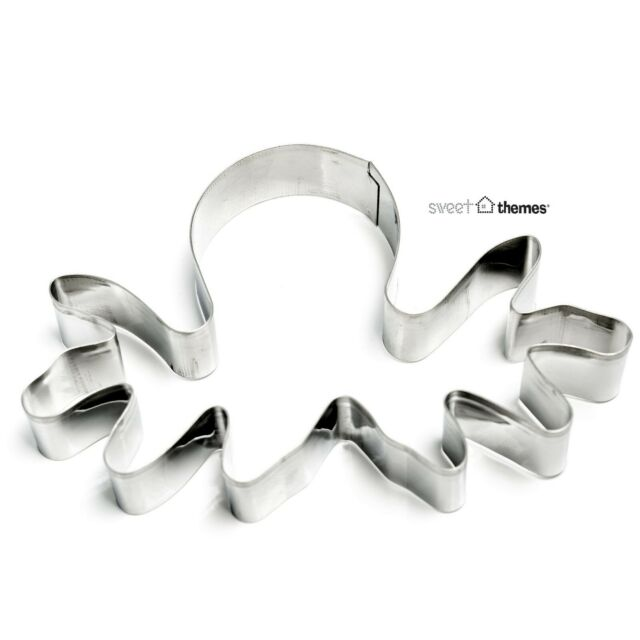 Octopus or Reindeer Head Cookie Cutter / Clay, Fruit or Fondant Cutter