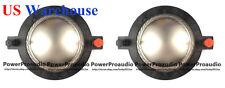 2PCS B&C DE75/750/TN DE82/85 Replacement Diaphragm/Voice Coil 8 ohm US WAREHOUSE