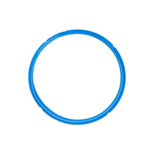 New Silicone Seal Rings Gasket For Instant Pot 4Qt //5Qt //6Qt //7Qt //8Qt//L Blue