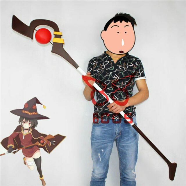 KonoSuba God's Blessing On This Wonderful World Megumin Wand Cosplay Prop Weapon