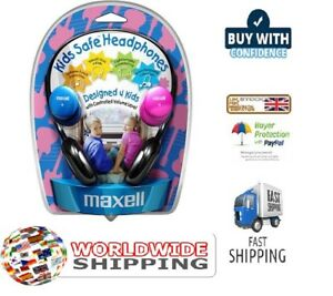 MAXELL-KIDS-SAFE-HEADPHONES-CONTROLLED-VOLUME-BRAND-NEW-RETAIL-BOXED