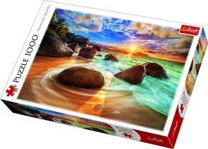 Trefl 1000 Piece adulte large Samudra Beach Inde soleil roches Jigsaw Puzzle Neuf 							 							</span>