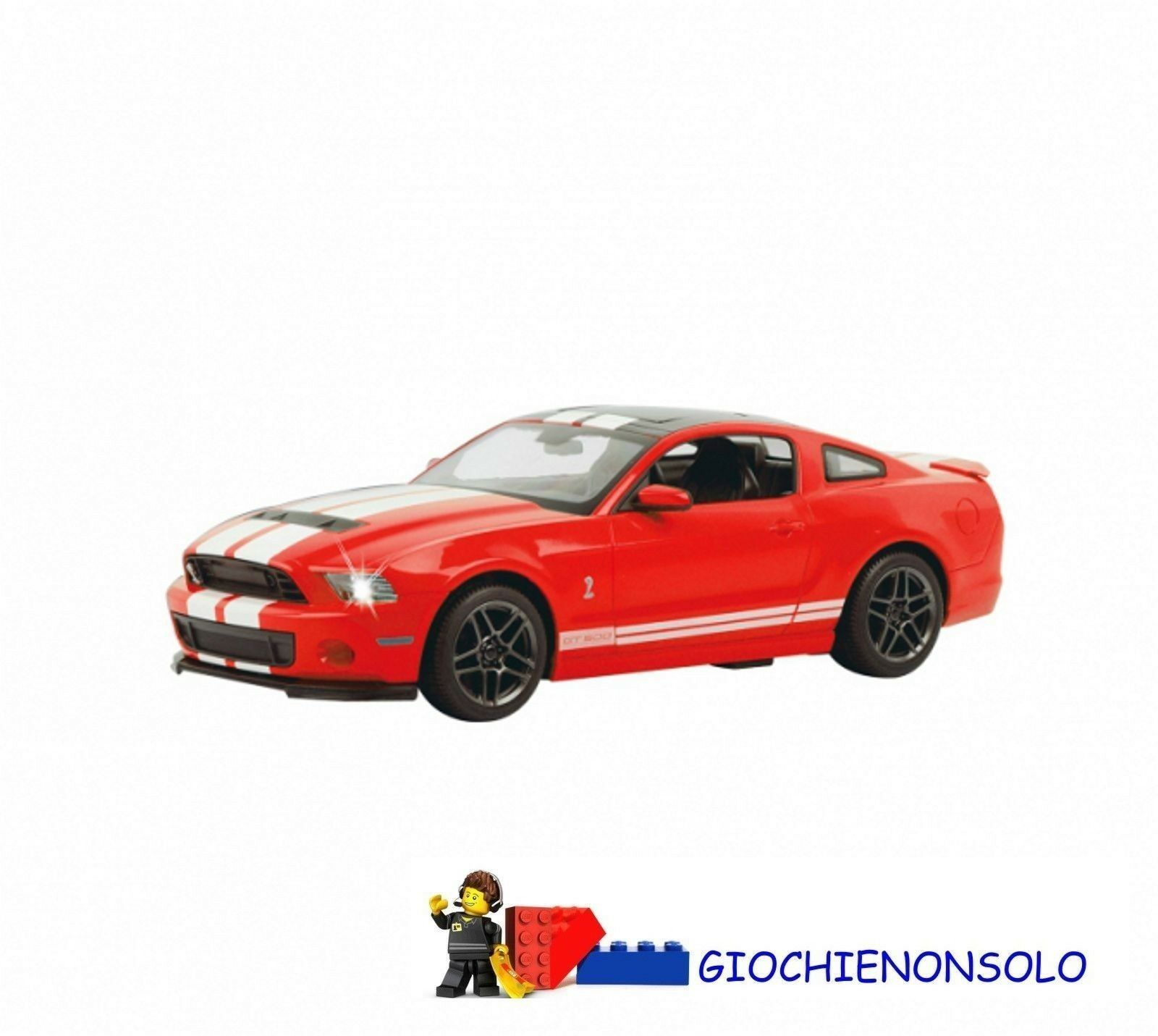 JAMARA 404541 - FORD SHELBY GT500 1-14 ROSSA  40 MHZ