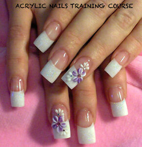 LEARN HOW TO DO ACRYLIC NAILS TRAINING COURSE DVD GUIDE NAILS BEAUTY ...