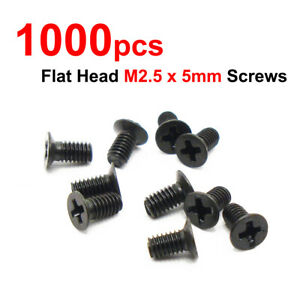 """6 Pcs M3x4mm Screws Standard fastener for 2.5/"""" SATA HDD//SSD"""