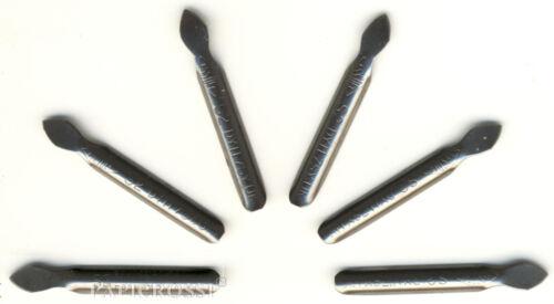Kratzmesser ohne und mit Halter für Kratzbilder Klingen, Ersatzklingen Mammut