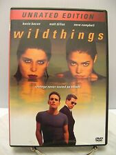 DVD THE WILDTHINGS Movie UNRATED EDITION - Neve Campbell Kevin Bacon Matt Dillon