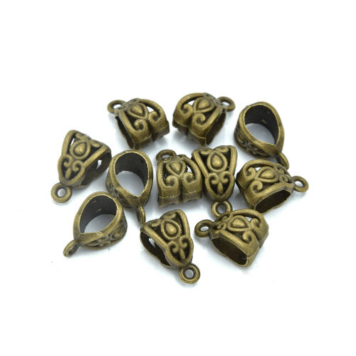 Bail Connector Spacer Beads Charm Holder Connector fit European Charm 100 M220
