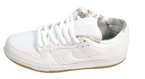 Nike DUNK LOW PRO SB White Pure Platinum Skate Discounted (536 ... f6b41c343c28