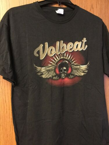 Volbeat.  Black Shirt.  XL.