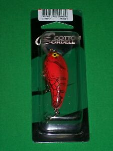 Cotton-Cordell-CRD-Crankbait-Big-O-Red-Crawdad-Bass-Fishing-Lure-Fish-bait