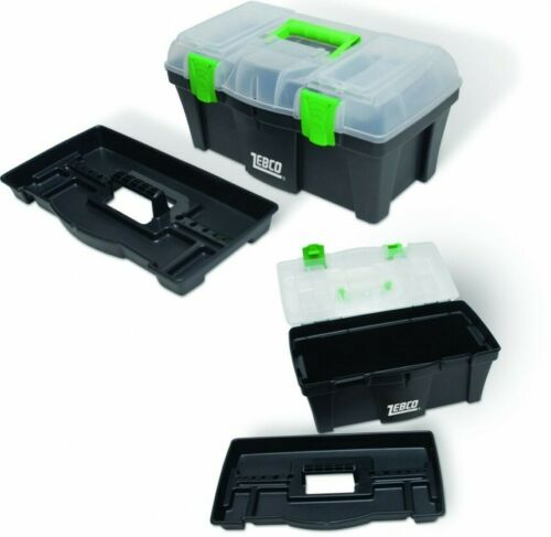 Fast 1st Class FREE Postage!! Zebco Small Eco Multi Section Tackle Box
