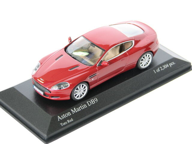 Aston Martin DB9 - 2003-Red 400137324 New Minichamps 1 43