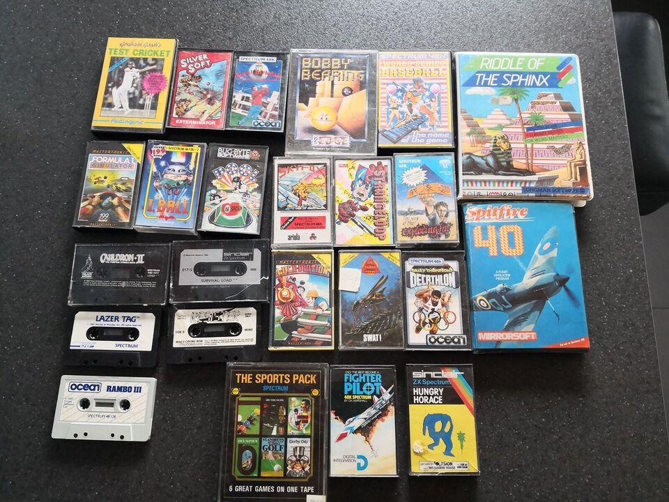29 spil, Sinclair ZX Spectrum