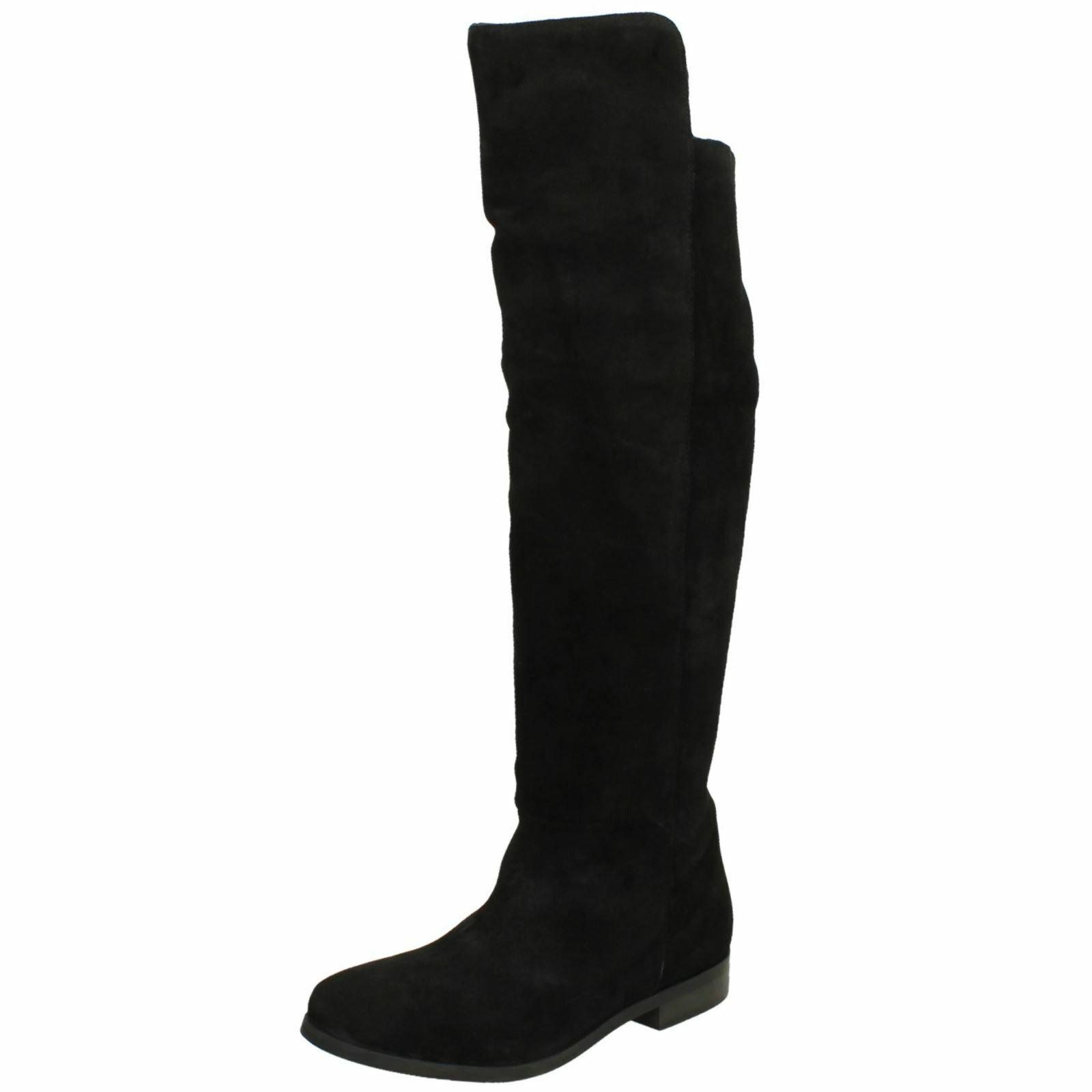 Colección de cuero señoras  la rodilla botas altas's