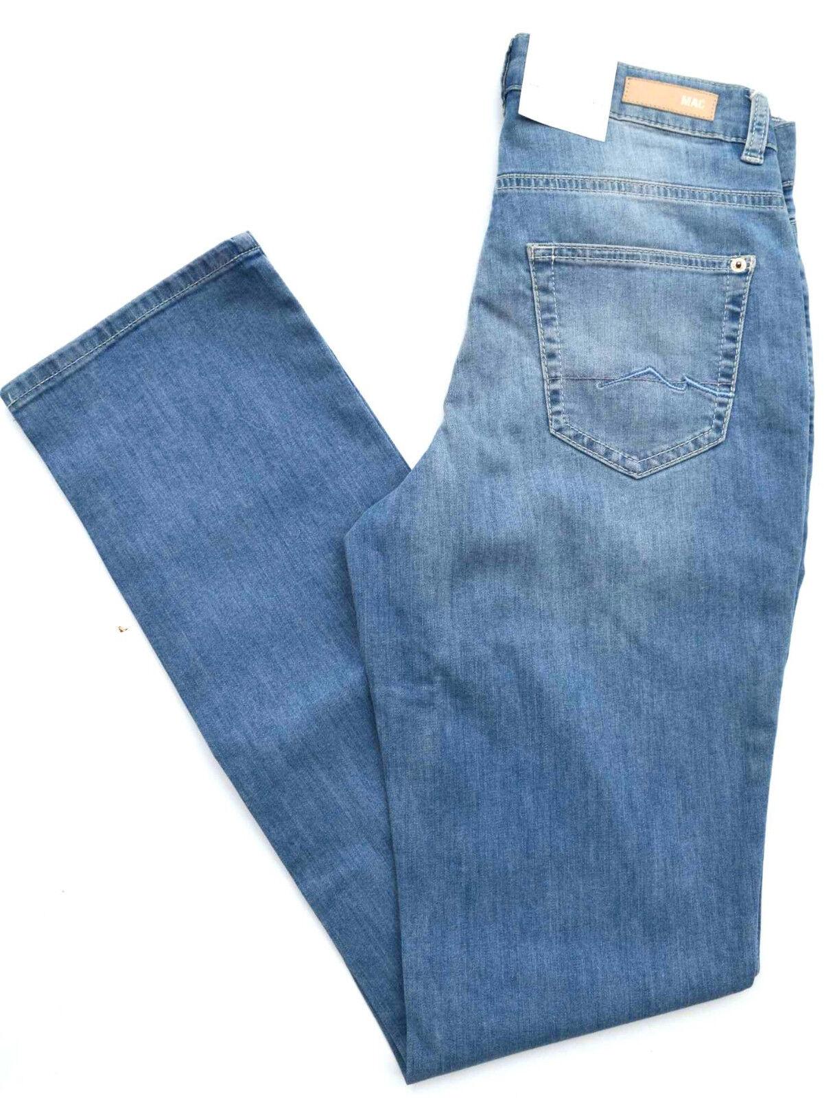 MAC Jeans MELANIE Stretch Denim blue regular fit basic Gr.36 L 36 NEU