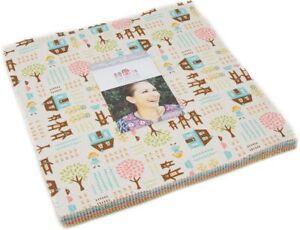 Home-Sweet-Home-Moda-Layer-Cake-42-100-Cotton-10-034-Precut-Quilt-Squares