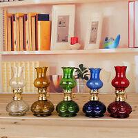 Gross Weight:270g Outdoor Glass Size 9 9 17cm Kerosene Oil Lamp Glass Picnic