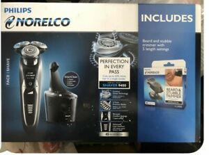Philips-Norelco-9400-Shaver-with-Beard-Stubble-Trimmer-New-Sealed
