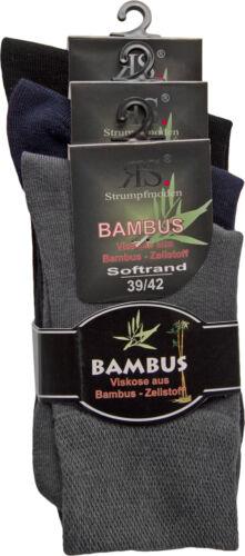 RS Riese Bambus Strumpf 43039 3-er Pack Gr 35//38 39//42 43//46 Neu