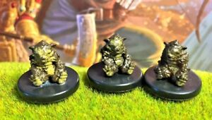Details about Zorbo x3 LOT D&D Miniature Dungeons Dragons pathfinder bear  dire druid chult rpg
