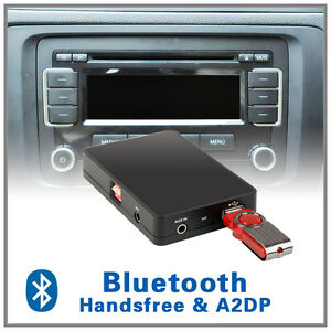 bluetooth a2dp usb adapter for vw 12pin rns 300 310 mfd2. Black Bedroom Furniture Sets. Home Design Ideas