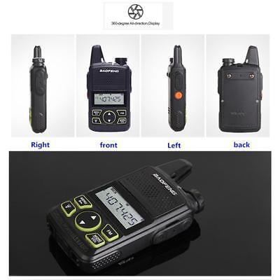 Way Radios De Elektrisches Spielzeug Spielzeug Persevering 1pcs Baofeng Bf-t1 Mini Amateur Walkie Talkie Uhf 400-420mhz Two