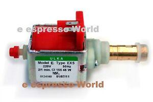 220v 230v 50hz Ulka Ex5 Vibratory Vibration Pump Gaggia