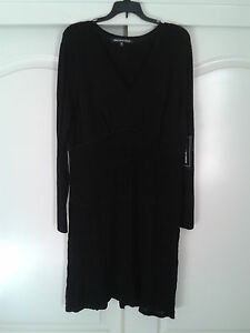 JONES-NEW-YORK-WEAR-Day-To-Dinner-Little-Black-Dress-SZ-L