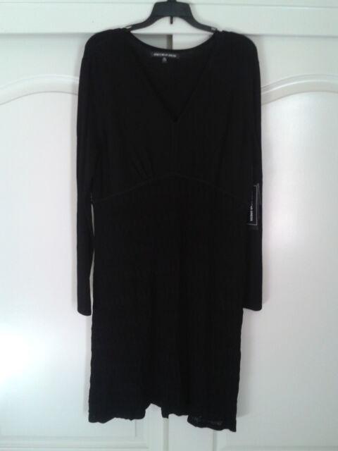 JONES NEW YORK WEAR Day To Dinner - Little Black Dress - SZ L
