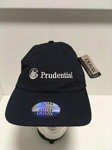 PRUDENTIAL-Insurance-Logo-Baseball-Hat-Adjustable-Size-Ball-Cap-Blue-NEW-NWT